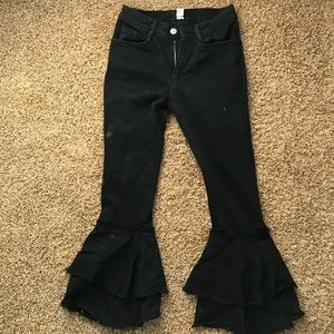 BDG flare out pants